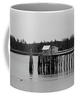 Coffee Mug featuring the photograph Jonesport, Maine by Trace Kittrell