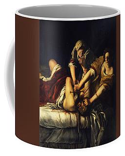 Judith Beheading Holofernes Coffee Mug