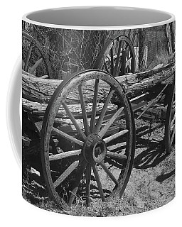 Coffee Mug featuring the photograph  Junk Pile by Debby Pueschel