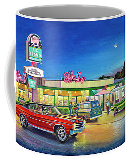 Muscle Car Cruise Night Coffee Mug