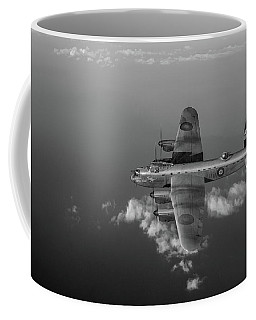 Kangaroo Nose Art Lancaster W5005 Bw Version Coffee Mug