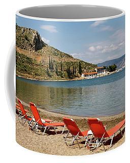 Coffee Mug featuring the photograph Karathona Beach by Shirley Mitchell