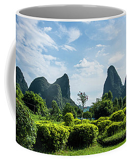 Karst Mountains Scenery Coffee Mug
