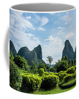Karst Mountains Scenery Coffee Mug