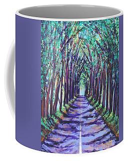 Kauai Tree Tunnel Coffee Mug by Marionette Taboniar