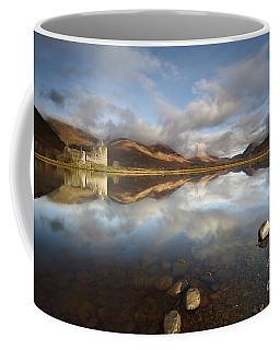 Coffee Mug featuring the photograph Kilchurn Castle by Maria Gaellman