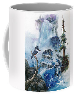 Kingfisher's Realm Coffee Mug