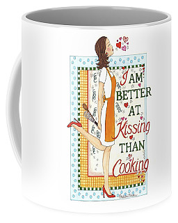 Kissing Cooking Coffee Mug