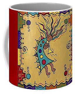 Kokopelli Dance Coffee Mug