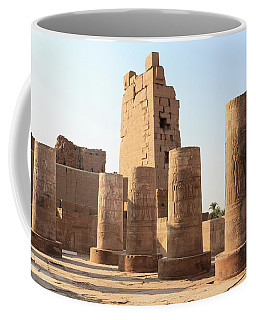 Coffee Mug featuring the photograph Kom Ombo by Silvia Bruno
