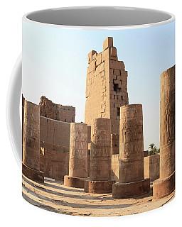 Coffee Mug featuring the photograph Kom Ombo by Silvia Bruno