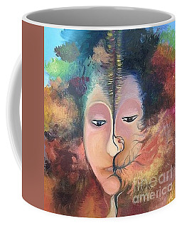 La Fille Foret Coffee Mug by Art Ina Pavelescu