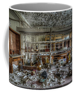 Coffee Mug featuring the digital art Lab 1 by Nathan Wright