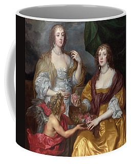 Lady Elizabeth Thimbelby And Her Sister Coffee Mug