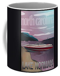 Lake Norman Poster  Coffee Mug