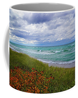 Coffee Mug featuring the photograph Lake Superior Colors by Rachel Cohen