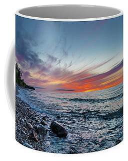 Lake Superior Sunset Coffee Mug