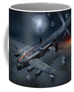 Lancaster Kb799 Under Fire Coffee Mug