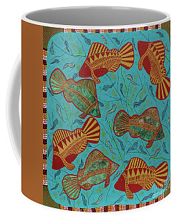 Large Barramundi Swimming  Coffee Mug