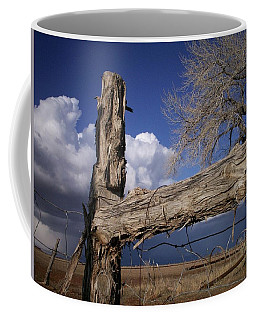 Coffee Mug featuring the photograph Last Winter Storm by Deborah Moen