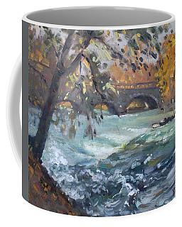 Late Afternoon By Niagara River Coffee Mug