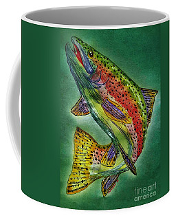 Leaping Trout Coffee Mug