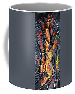 Leather And Flames Coffee Mug