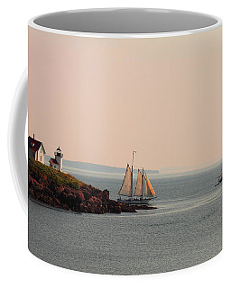 Leaving Camden Harbor Coffee Mug