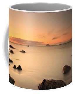 Coffee Mug featuring the photograph Lendalfoot Sunset by Maria Gaellman