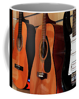Let The Music Play Coffee Mug by Stephen Melia