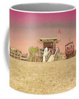 Lifeguard Tower 3 Coffee Mug