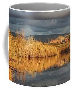 Light Breaks Through Coffee Mug