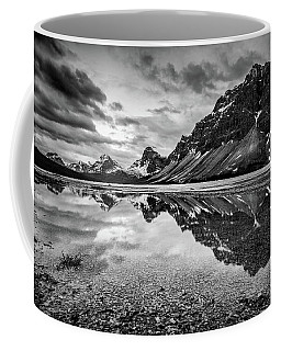Coffee Mug featuring the photograph Light On The Peak by Jon Glaser