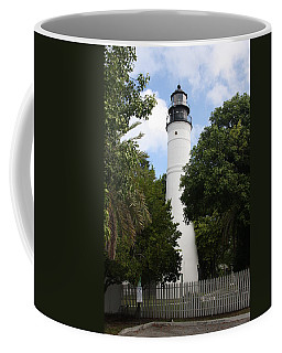 Coffee Mug featuring the photograph Lighthouse - Key West by Christiane Schulze Art And Photography