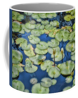 Coffee Mug featuring the photograph Lily Pads by Ann Powell