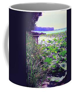 Lily Pads Coffee Mug by Bonnie Willis