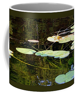 Lily Pads On The Lake Coffee Mug