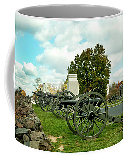 Coffee Mug featuring the photograph Line Of Fire by Paul W Faust - Impressions of Light