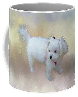 Little Cutie Coffee Mug by Eva Lechner