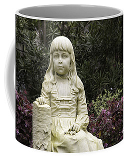 Coffee Mug featuring the photograph Little Gracie Bonaventure Cemetery by Jeannette Hunt