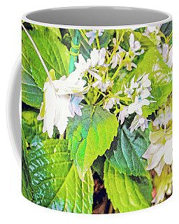 Coffee Mug featuring the photograph Little Orchids by Mindy Newman
