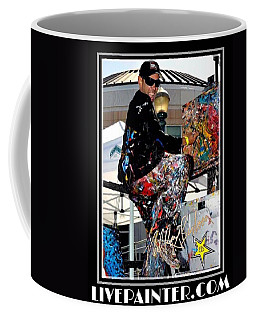 Live Painter Photo Coffee Mug