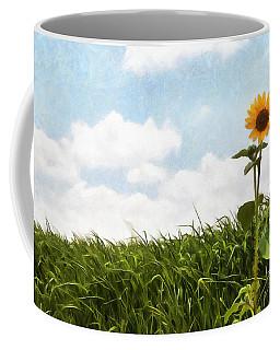 Lonely Flower Coffee Mug by Ricky Dean