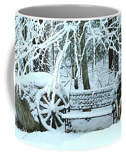 Lonely In Winter Coffee Mug