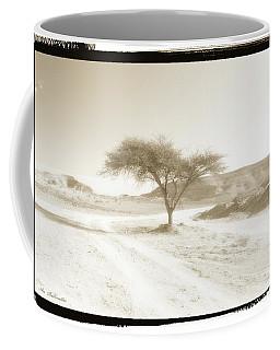 Lonely Tree Coffee Mug by Arik Baltinester