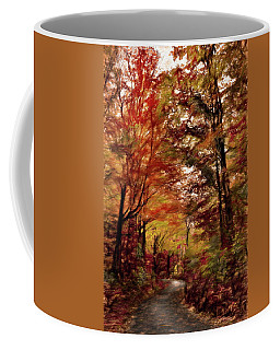 Long And Winding Road Coffee Mug