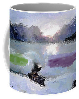 Looking Out Into The Bay Coffee Mug