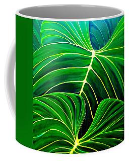 Lovely Greens Coffee Mug by Debbie Chamberlin