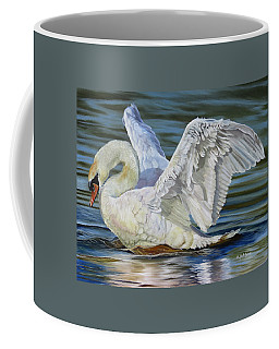 Coffee Mug featuring the painting Lovely by Phyllis Beiser