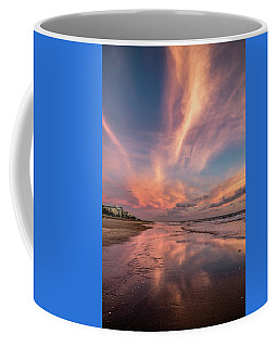 Coffee Mug featuring the photograph Low Tide Mirror by Debra and Dave Vanderlaan